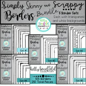 Simply Skinny and Scrappy Borders Bundle