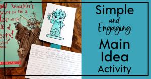 Main Idea Activity for Upper Elementary