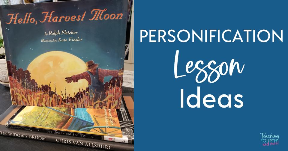 Personification Lesson Ideas