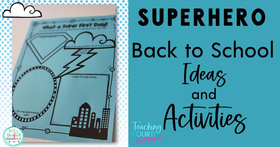 superhero classroom ideas superhero theme back to school