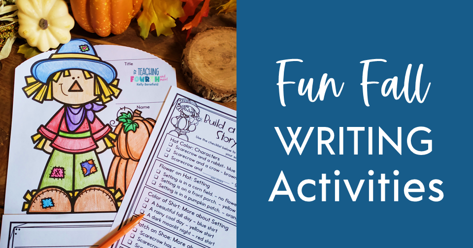 Fun Fall Writing Activities for 3rd, 4th, or 5th grade