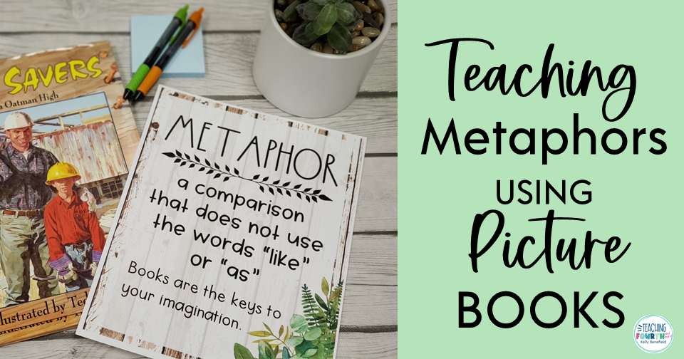 Using picture books to teach metaphors