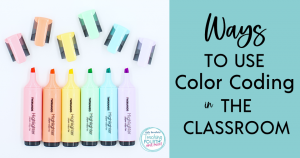 Ways to use color coding in the classroom