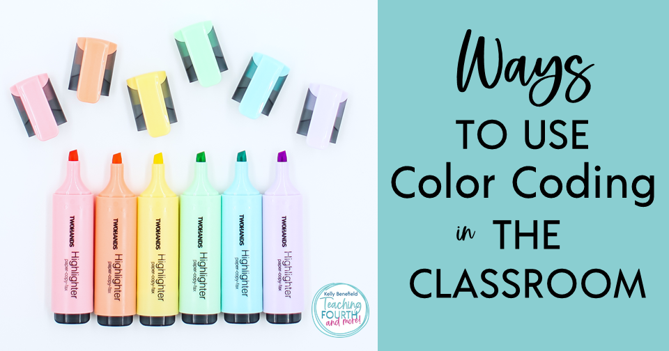 Ways to Use Color Coding in the Classroom for Teaching Reading and Grammar