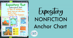 expository nonfiction anchor chart